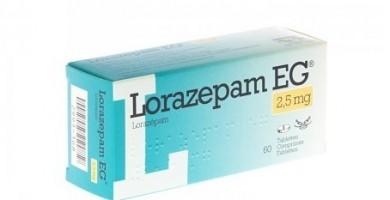 Lorazepam EG 2.5mg  N