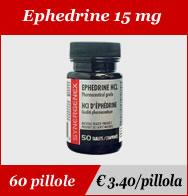 Ephedrine 15mg