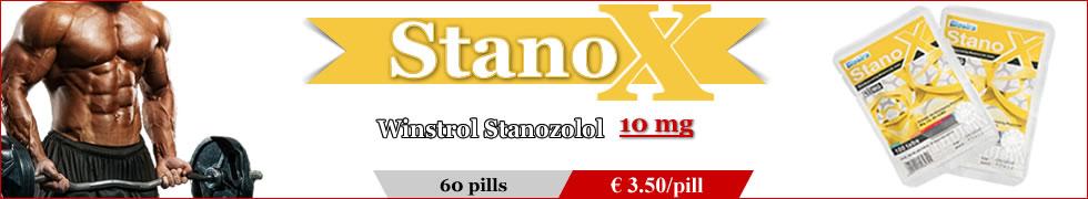 Stanox Stanozol 10mg