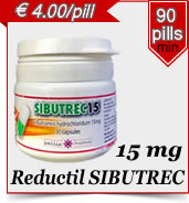 Reductil Sibutrec 15 mg